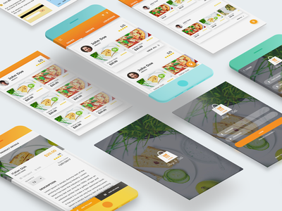 Food and sell Application mobile design design mobile application ux ui application mobile sell food