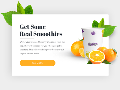 Roseberry Website Mock up design mobile flat design orange restaurant ux ui web design website