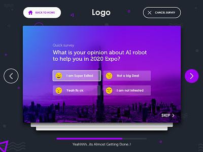 Survey app Concept two dashboard studio design flatdesign apple ipad ux ui mobile survey
