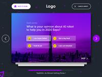 Survey app Concept two