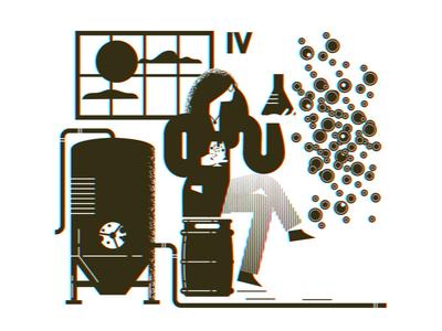 Brewing process growler 04