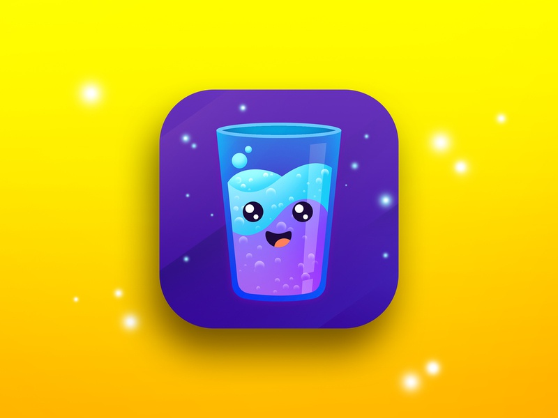 My Water app icon tracking app app icon water