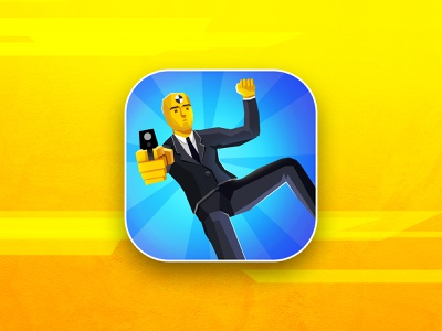 VipGuards iphone aso gun guardian vipguard bodyguard app store guard logo bullet art design illustration game icon