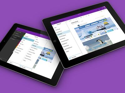 OneNote on iPad