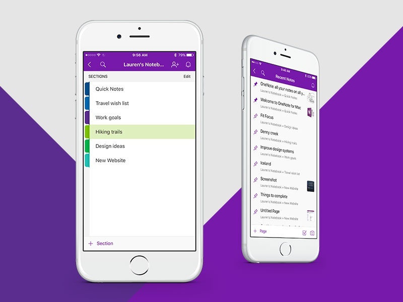 Onenote dribbble1
