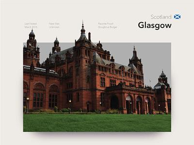 Glasgow photography castles travel scotland glasgow