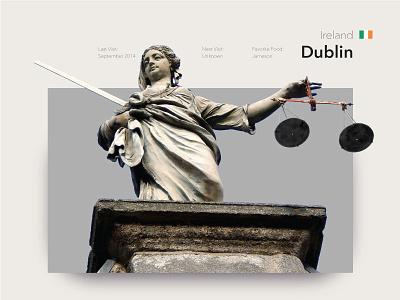 Dublin travel statues photography luck of the irish ireland dublin