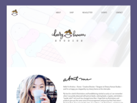 Cheery Human Studios Website Redesign - Landing Page