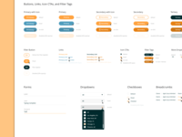 UI Style Guide - Analytics Dashboard