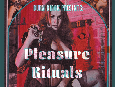Pleasure Rituals Podcast Promotion event flyer graphic design podcast