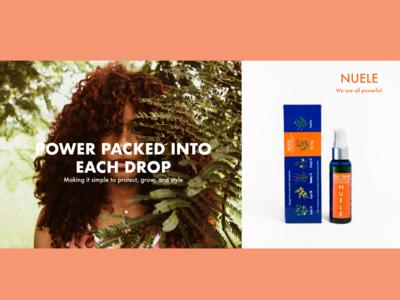 Nuele Hair Advertising Presentation