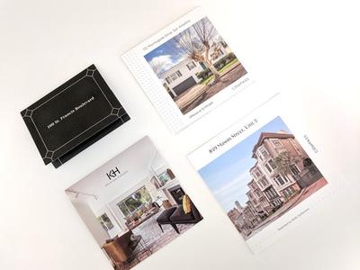 Luxury property print marketing