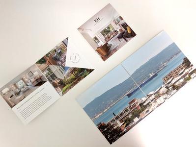 Luxury property brochures