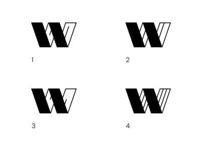 Letter W Logo Mark