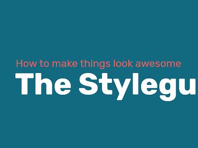 Styleguide library pattern styleguide