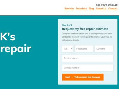 Modular homepage