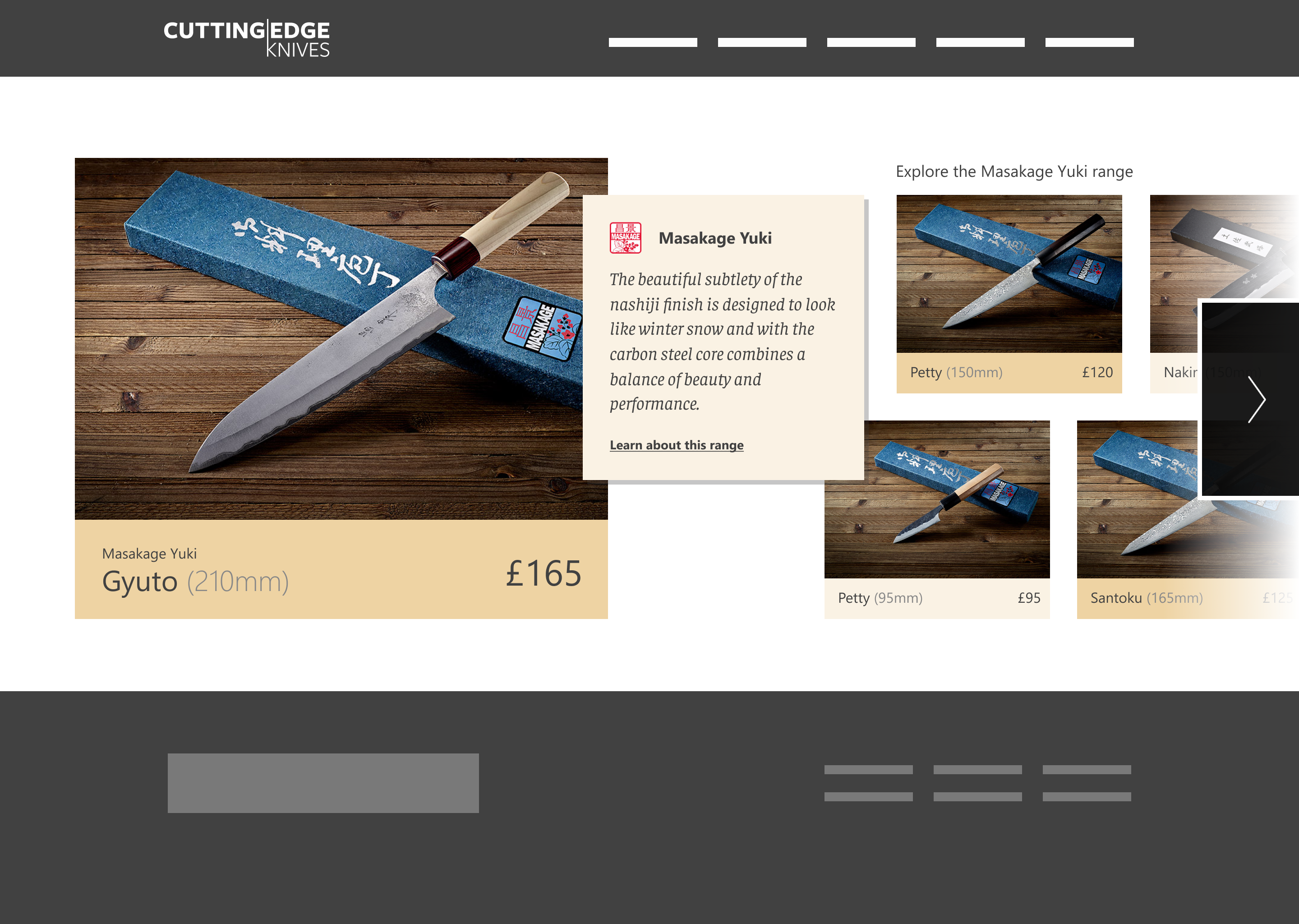 Homepage   iteration 1