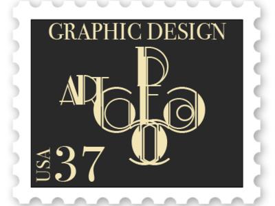 Art Deco Stamp Design