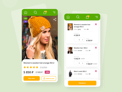 Mobile version of a clothing store product page price product ecommerce design ecommerce shop web design website mobile design mobile ui mobile cloth checkout checkout page product page e-commerce shop e-commerce ecommerce figma website design adaptive design adaptive