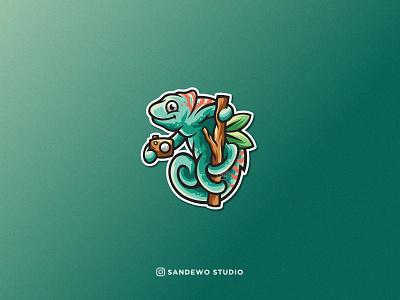 chameleon logo design logo illustration character logo camera logo chameleon logo chameleon art chameleon design logo awesome logo vector logo branding design awesome creative logos vector logotype logodesign illustration awesome logo