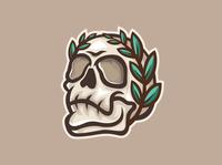 skull logo