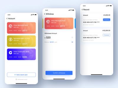 Cashout page design