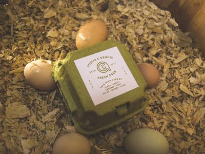 Austin C Dennis Egg Brand