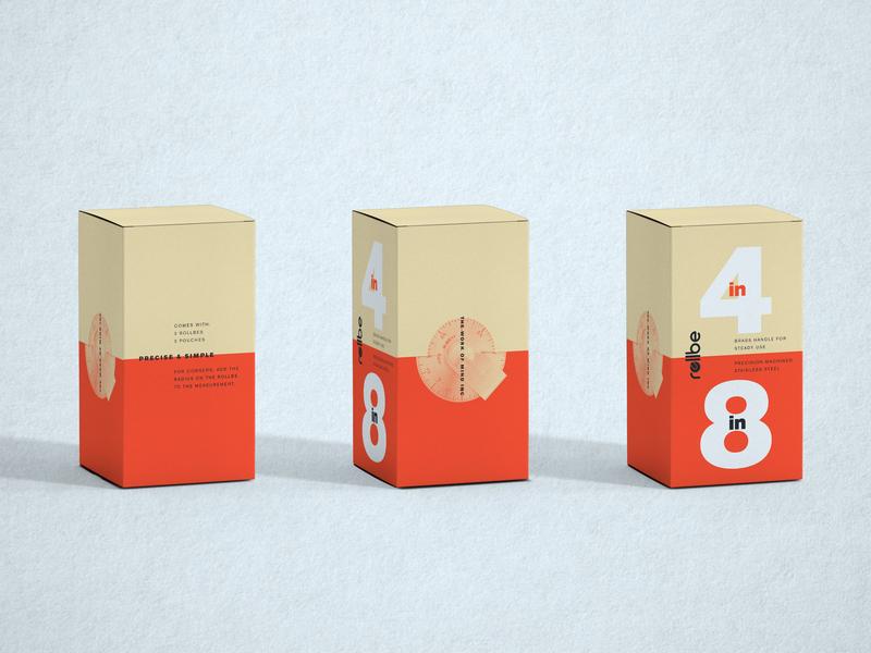 Rollbe Packaging Concepts packaging mockup logo design branding