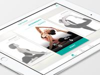Yoga Fitness Card