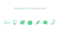 Reading Buddy Icons