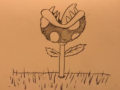 Inktober / 14 Overgrown