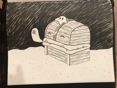Inktober / 21 Treasure