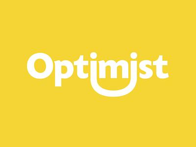 Optimist branding logo logotype