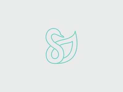 Body Language nfp branding swan logo logo design