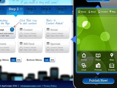 Mobile App Builder mobile app ui