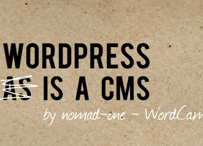 Wordpress Is Cms