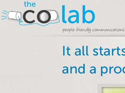 the-colab.com header & logo