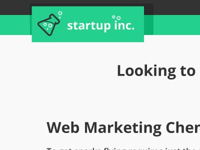 Startupinc Logo flat logo theme