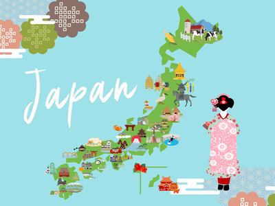 Daily UI 029 Map map design daily ui 029 japan food japanese culture map japan daily ui challenge adobe xd dailyuichallenge daily ui dailyui daily 100 challenge