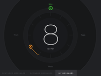 Time Toggle Interface