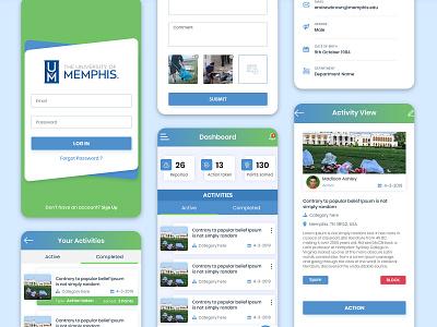 Mobile App Dashboard UI ux design ui app ui kit branding app ui design ux typography ui kit ui  ux ui design