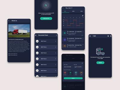 Mobile UI Kit typography design app ui ui ui kit ux design ui  ux branding ux ui design