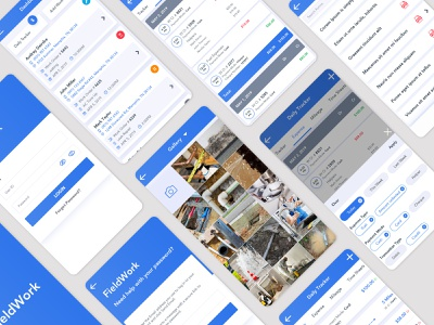 Mobile App UI typography ui ui design app ui branding ux ui kit design ui  ux ux design