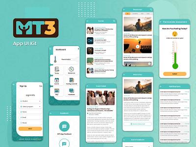 App UI Kit design ui kit branding app ui ui ui design ux typography ui  ux ux design