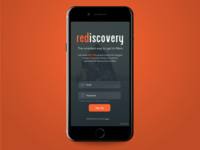 Rediscovery- Daily UI 001- Signup Form