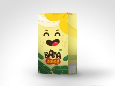 Exploration design packaging juice Bana