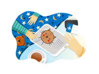 Illustration for Kids App