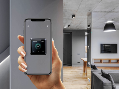 Interactive guide through AR (part 2) voice assistant future navigation animation after effects ux design setup app concept app mobile onboarding voice device ux iphone temperature smart home interface artificial intelligence ar augmented reality