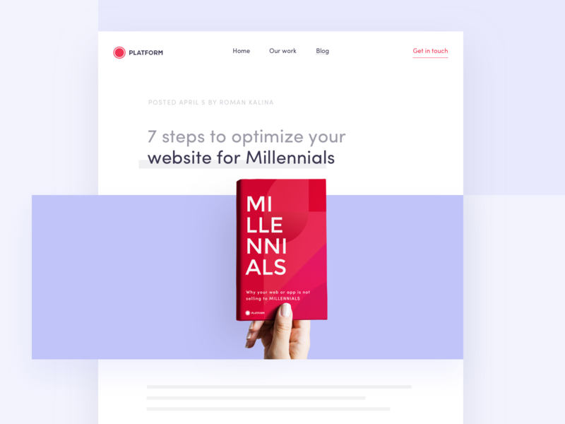 7 steps to optimize your website for Millennials