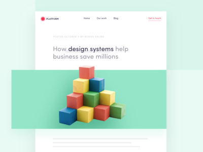 How design systems help businesses save millions